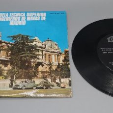Discos de vinilo: RARISIMO EP CANCION DEL GEOLOGO MINERO POR BANDA MUNICIPAL DE TRUJILLO AÑO 1967. Lote 232557180