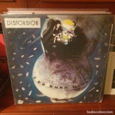 Disques de vinyle: DISTORSION / KE BUEN DIOS / GUNS OF BRIXTON RECORDS 2018. Lote 232575725