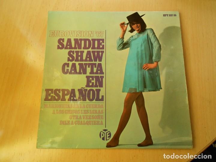 SANDIE SHAW CANTA EN ESPAÑOL - EUROVISION 67 -, EP, MARIONETAS EN LA CUERDA + 3, AÑO 1967 (Música - Discos de Vinilo - EPs - Festival de Eurovisión)