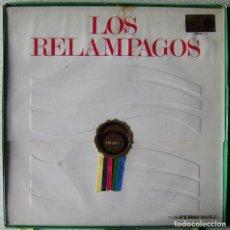 Discos de vinilo: LOS RELAMPAGOS.6 PISTAS..CON SU CAJA ORIGINAL...MUY DIFICIL..DANZA DEL FUEGO-ALBORADA GALLEGA + 10. Lote 232664145