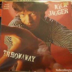 Discos de vinilo: MICK JAGGER - THROWAWAY. Lote 232678470
