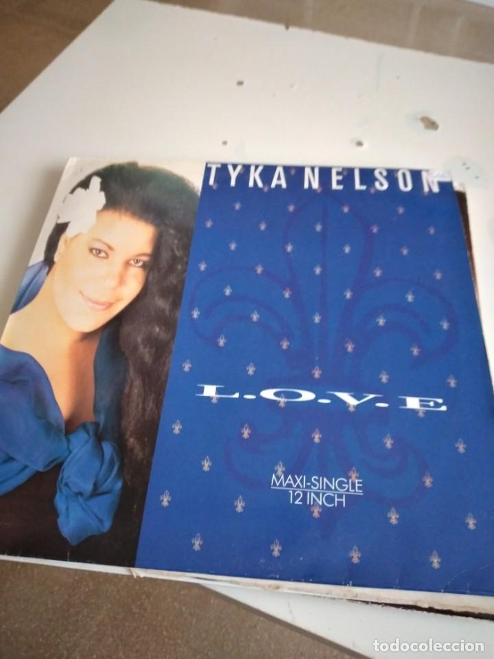 """TRAST DISCO GRANDES 12 """" MUSICA TYKA NELSON. LOVE MAXI SINGLE (Música - Discos de Vinilo - Maxi Singles - Pop - Rock - New Wave Internacional de los 80)"""
