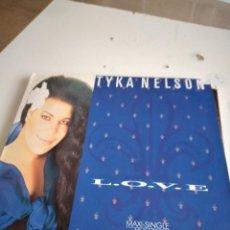 """Discos de vinilo: TRAST DISCO GRANDES 12 """" MUSICA TYKA NELSON. LOVE MAXI SINGLE. Lote 232679850"""