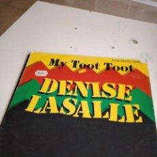 "Discos de vinilo: TRAST DISCO GRANDES 12 "" MUSICA DENISE LASALLE - MY TOOT TOOT . MAXI SINGLE. Lote 232680760"