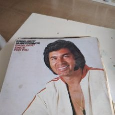 "Discos de vinilo: TRAST DISCO GRANDES 12 "" MUSICA ENGELBERT HUMPERDINCK SINGS FOR YOU. Lote 232681606"