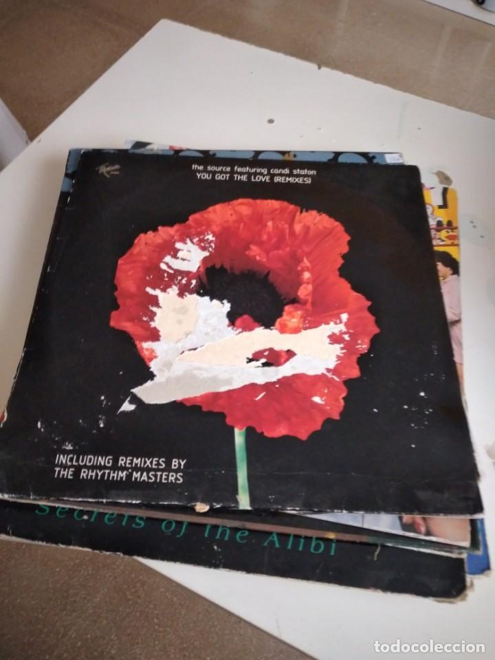 "TRAST DISCO GRANDES 12 "" MUSICA THE SOURCE FEATURING CANDI STATON YOU GOT THE LOVE (Música - Discos de Vinilo - Maxi Singles - Disco y Dance)"