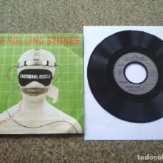 Disques de vinyle: SINGLE VINILO -- THE ROLLING STONES - EMOTIONAL RESCUE -- 1980 FRANCIA ROLLING STONES RECORDS --. Lote 232716665