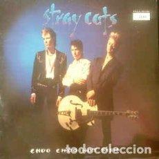 Disques de vinyle: STRAY CATS – CHOO CHOO HOT FISH. Lote 232731961