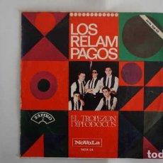 Discos de vinilo: LOS RELAMPAGOS EL TROPEZON, DIPLODOCUS, ZAFIRO NOVOLA NOX - 24. Lote 232777850