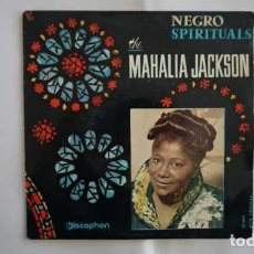 Discos de vinilo: NEGRO SPIRITUALS THE MAHALIA JACKSON, IN THE UPPER ROOM, I BOW ON MY KNEES, DISCOPHON 27.003. Lote 232778525