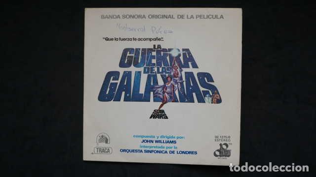 BANDA SONORA ORIGINAL DE LA PELICULA LA GUERRA DE LAS GALAXIAS STAR WARS, CENTURY RECORDS 02.1275/0 (Música - Discos - Singles Vinilo - Bandas Sonoras y Actores)
