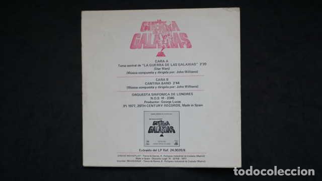 Discos de vinilo: BANDA SONORA ORIGINAL DE LA PELICULA LA GUERRA DE LAS GALAXIAS STAR WARS, CENTURY RECORDS 02.1275/0 - Foto 2 - 232779630