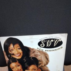Discos de vinilo: SWV. NEW BEGINNING. SISTERS WHITH VOICES. 2 LP'S.. Lote 232785055