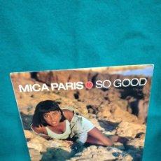 Discos de vinilo: MICA PARIS SO GOOD. LP. Lote 232789755