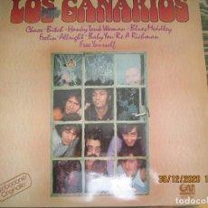 Discos de vinilo: LOS CANARIOS - LOS CANARIOS LP - EDICION ESPAÑOL - GRAMUSIC RECORDS 1978 - STEREO -. Lote 232836855