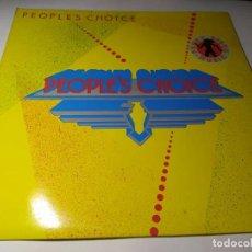 Discos de vinilo: LP - PEOPLE'S CHOICE – PEOPLE'S CHOICE - 63 02 114 (VG+ / VG+) SPAIN 1981. Lote 232838785