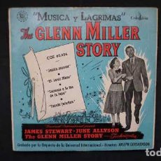 "Discos de vinilo: "" MUSICA Y LAGRIMAS "", THE GLENN MILLER STORY JARRITA MARRON, ST. LOUIS BLUES, COLUMBIA CGE 60.024. Lote 232846180"