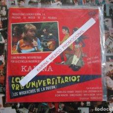 Discos de vinilo: KARINA LOS PREUNIVERSITARIOS ( MEXICO ) PROMOCIONAL SPOTS /. Lote 232852586