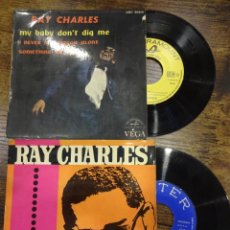 Dischi in vinile: RAY CHARLES. LOTE 2 DISCOS. VER FOTOS. Lote 232856955