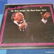 Discos de vinilo: LOTT110 DOBLE LP ALEMANIA AÑOS 80 MUY BUEN ESTADO FRANK SINATRA MY BEST SONGS MY BEST YEARS. Lote 232861395