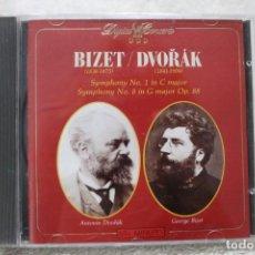Discos de vinilo: CD BIZET DVORAK SYMPHONY Nº 1 IN C MAJOR SYMPHONY Nº 8 IN G MAJOR OP. 88. Lote 232867120