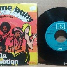 Discos de vinilo: SHEILA B. DEVOTION / LOVE ME BABY / SINGLE 7 INCH. Lote 232869815