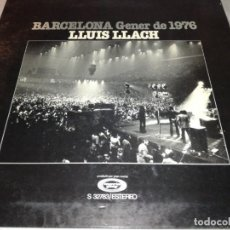 Disques de vinyle: LLUIS LLACH-BARCELONA. Lote 232882435
