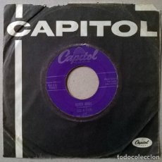 Discos de vinilo: LES BAXTER & THE BOMBERS. HAPPY BABY/ EARTH ANGEL. CAPITOL, UK 1954 SINGLE. Lote 232897955