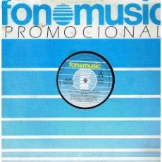 Discos de vinilo: LOS CALIS - HEROINA / QUIEN TE RIZA EL PELO / UNA PALOMA BLANCA - MAXI SINGLE 1986. Lote 232925290