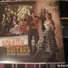 Discos de vinilo: LP DAVID MORENO SPANISH GUITARS CAPITOL 10045 USA 195???. Lote 232928665