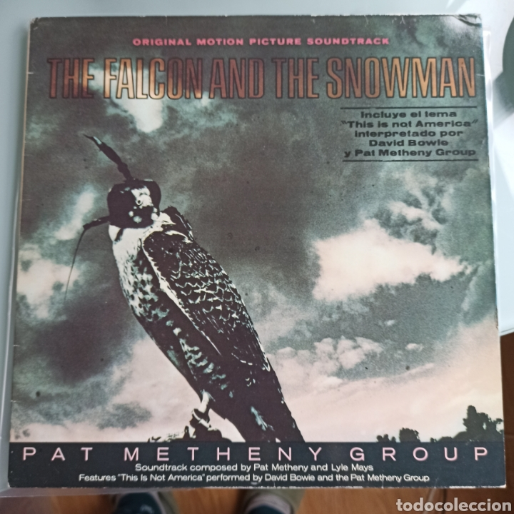 PAT METHENY GROUP - THE FALCON AND THE SNOWMAN (EMI AMERICA, SPAIN, 1985) (Música - Discos - LP Vinilo - Jazz, Jazz-Rock, Blues y R&B)