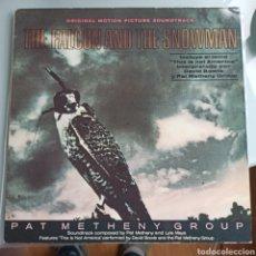 Discos de vinilo: PAT METHENY GROUP - THE FALCON AND THE SNOWMAN (EMI AMERICA, SPAIN, 1985). Lote 232941870