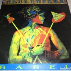 Discos de vinil: AZUL Y NEGRO-BABEL. Lote 232943145