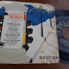 Discos de vinilo: CONJUNTO VOCAL THE BELLS, EP, ALREDEDOR DEL RELOJ + 3, AÑO 1959-. Lote 232945000