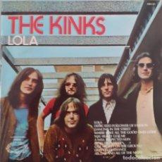 Disques de vinyle: KINKS LOLA. Lote 232965430