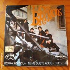 Discos de vinilo: LOS BRINCOS - BORRACHO/ SOLA/ TU ME DIJISTE ADIOS/ ERES TU. Lote 232970940