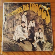 Discos de vinilo: THE TROGGS - EP- WILD THING/ WITH A GIRL LIKE YOU/ FROM HOME/ I WANT YOU. Lote 232973560