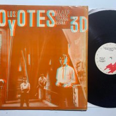 Discos de vinil: MAXI LOS COYOTES ELLA ES TAN EXTRAÑA DE 1983. Lote 232978350