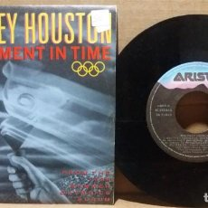 Discos de vinilo: WHITNEY HOUSTON / ONE MOMENT IN TIME / SINGLE 7 INCH. Lote 232980060