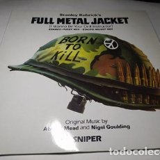 Discos de vinilo: MAXI - ABIGAIL MEAD & NIGEL GOULDING – FULL METAL JACKET - 920 787-0 (VG+ / VG+) EURO 1987. Lote 232983320