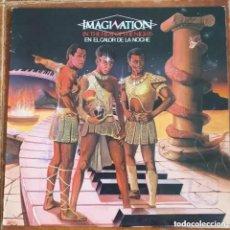 Discos de vinil: IMAGINATION - EN EL CALOR DE LA NOCHE (LP) 1982. Lote 232996165