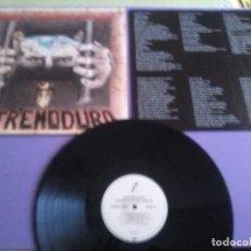 Disques de vinyle: JOYA LP ORIGINAL.EXTREMODURO ¿DÓNDE ESTÁN MIS AMIGOS? 4509 93650 1 DRO 1993 PRIMERA EDICIÓN + LETRAS. Lote 233006990