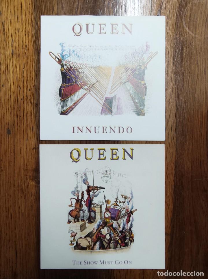 QUEEN - LOTE 2 SINGLES DEL LP INUENDO (Música - Discos - Singles Vinilo - Pop - Rock Extranjero de los 90 a la actualidad)