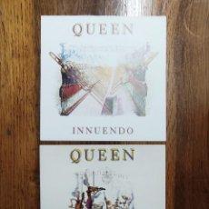 Disques de vinyle: QUEEN - LOTE 2 SINGLES DEL LP INUENDO. Lote 233013345