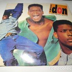 Discos de vinilo: LP - THE DON – WAKE UP THE PARTY - C 47128 (VG+ / VG+) US 1991. Lote 233016280