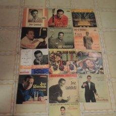 Discos de vinil: LOTE DE 13 DISCOS VINILOS EPS DE JOSÉ GUARDIOLA - 60S. Lote 233019645