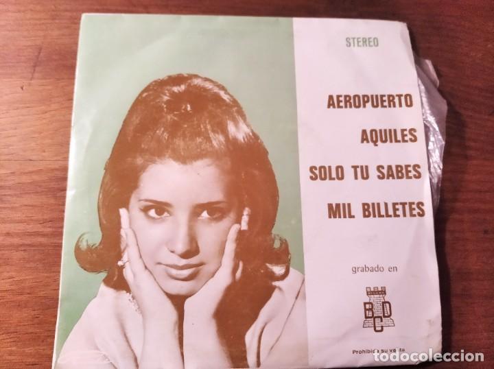 JULIO LORENTE - ROBERTO MILLER - AEROPUERTO + 3 ****** RARO EP ESPAÑOL PROMO (Música - Discos de Vinilo - EPs - Grupos Españoles de los 70 y 80)