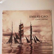 "Discos de vinilo: EMILIO CAO ""CARTAS MARIÑAS"" SINGLE PROMO. Lote 233050250"