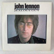 Discos de vinilo: SINGLE JOHN LENNON - JEALOUS GUY - UK - AÑO 1971- EXCELENTE. Lote 233123245