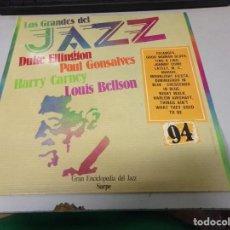 Disques de vinyle: DISCO LOS GRANDES DEL JAZZ NUMERO 94 DUKE ELLINGTON PAUL GONSALVES HARRY CARNEY LOUIS BELLSON. Lote 233125710